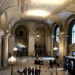 Eingangshalle der New York Public Library