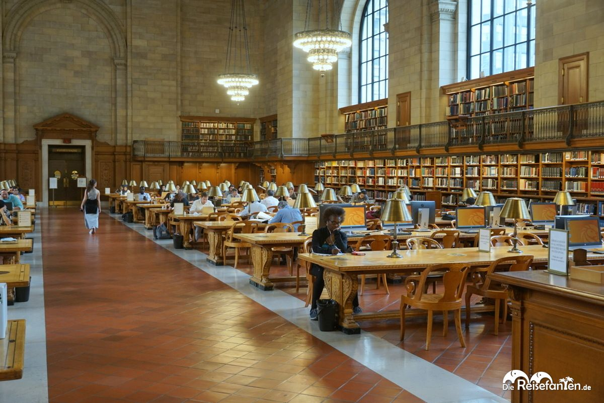 Lesesaal der New York Public Library