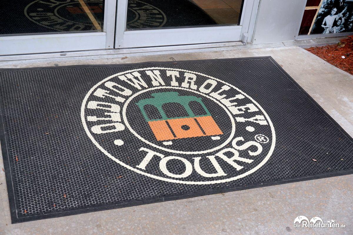 Logo der Savannah Trolley Tour
