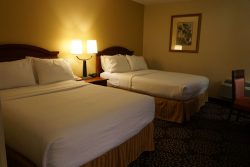 Queen Size Zimmer im Holiday Inn Charleston Riverview