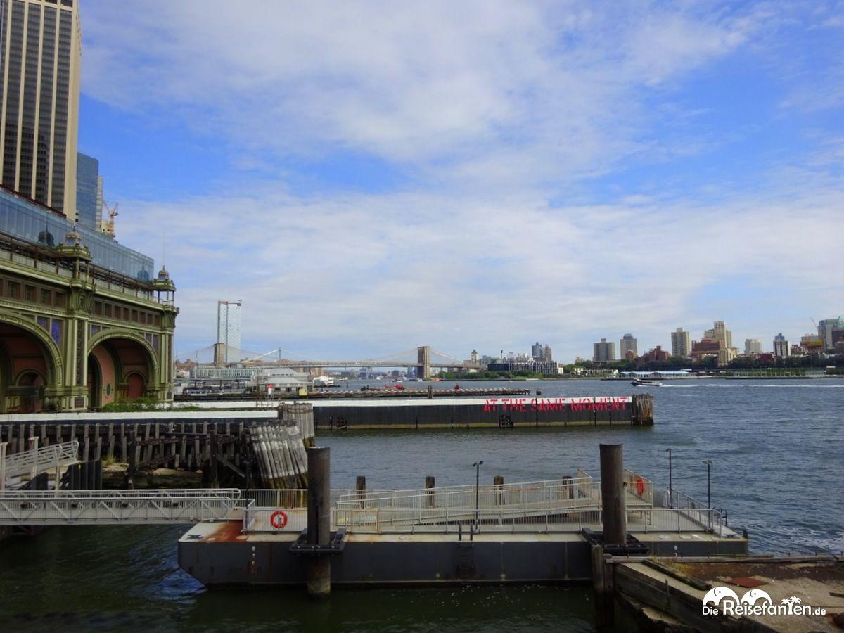 Terminal der Staten Island Ferry