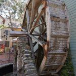 Altes Wasserrad in St .Augustine FL