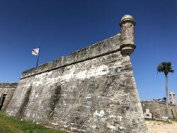Castillo de San Marcos in St. Augustine FL