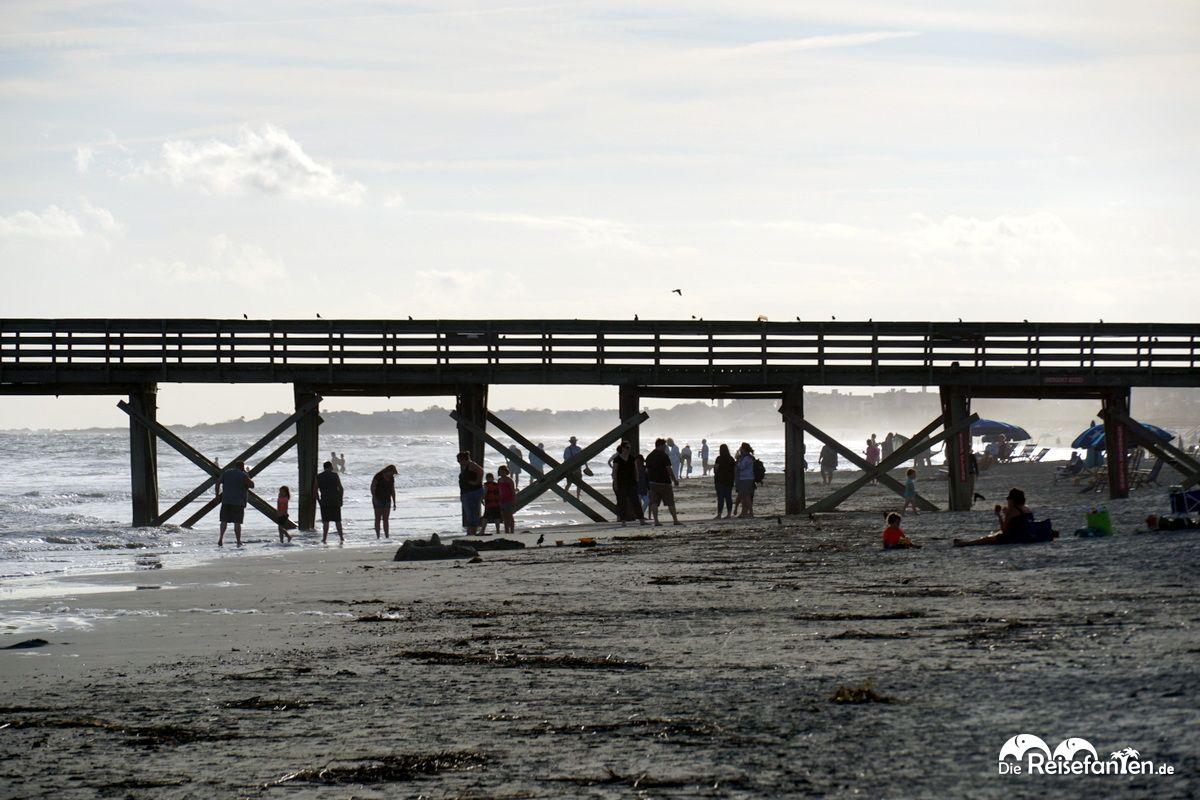 Der Pier von Sullivan's Island
