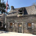 Die älteste Schule aus Holz in St. Augustine FL