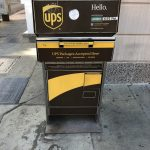 UPS Postkasten in Charleston