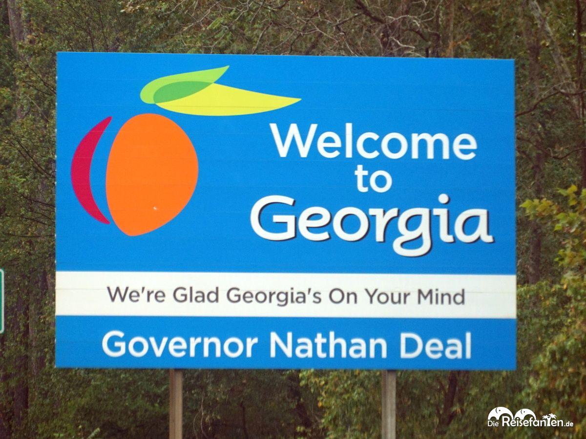 Willkommen in Georgia