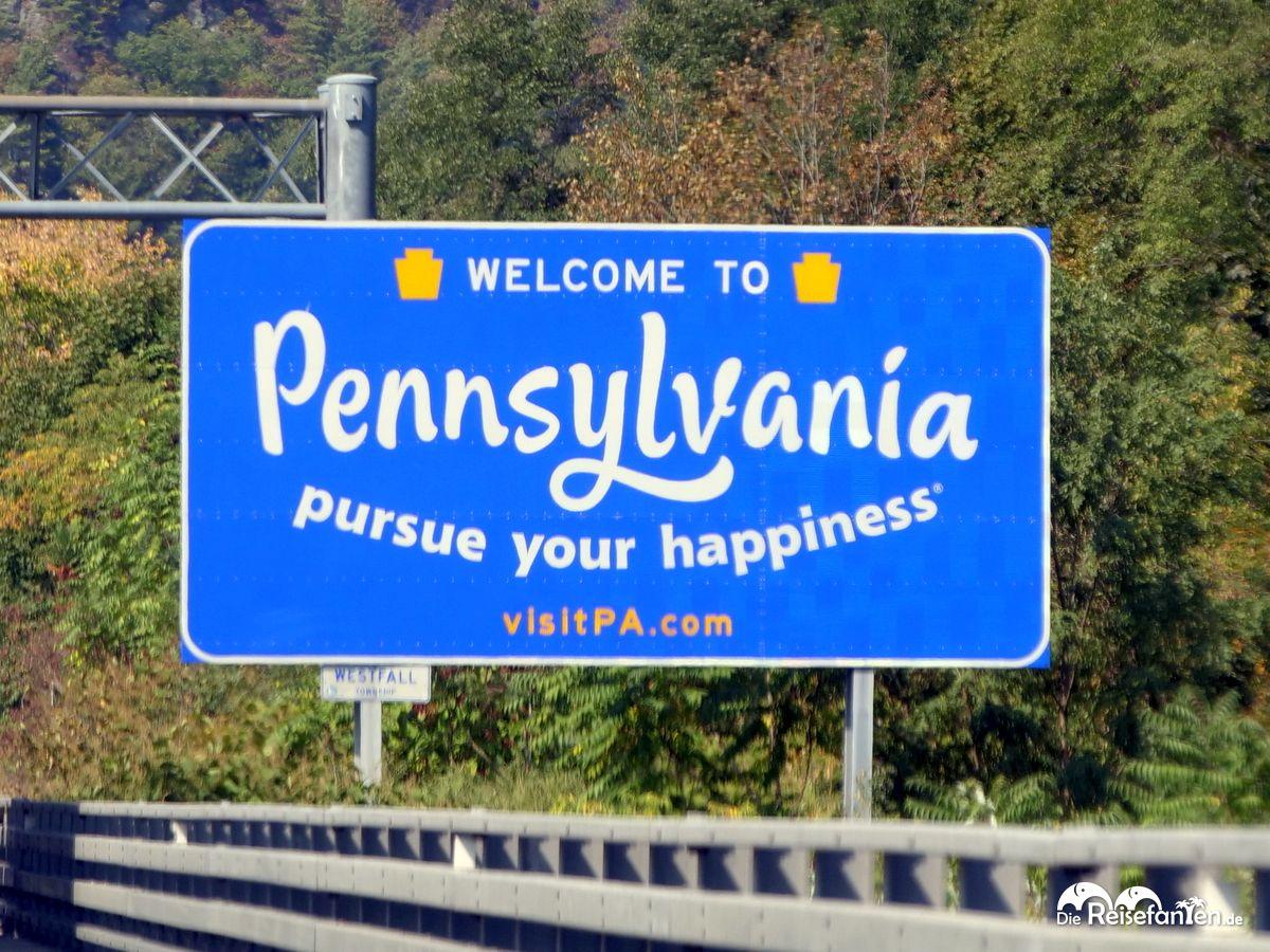 Willkommen in Pennsylvania