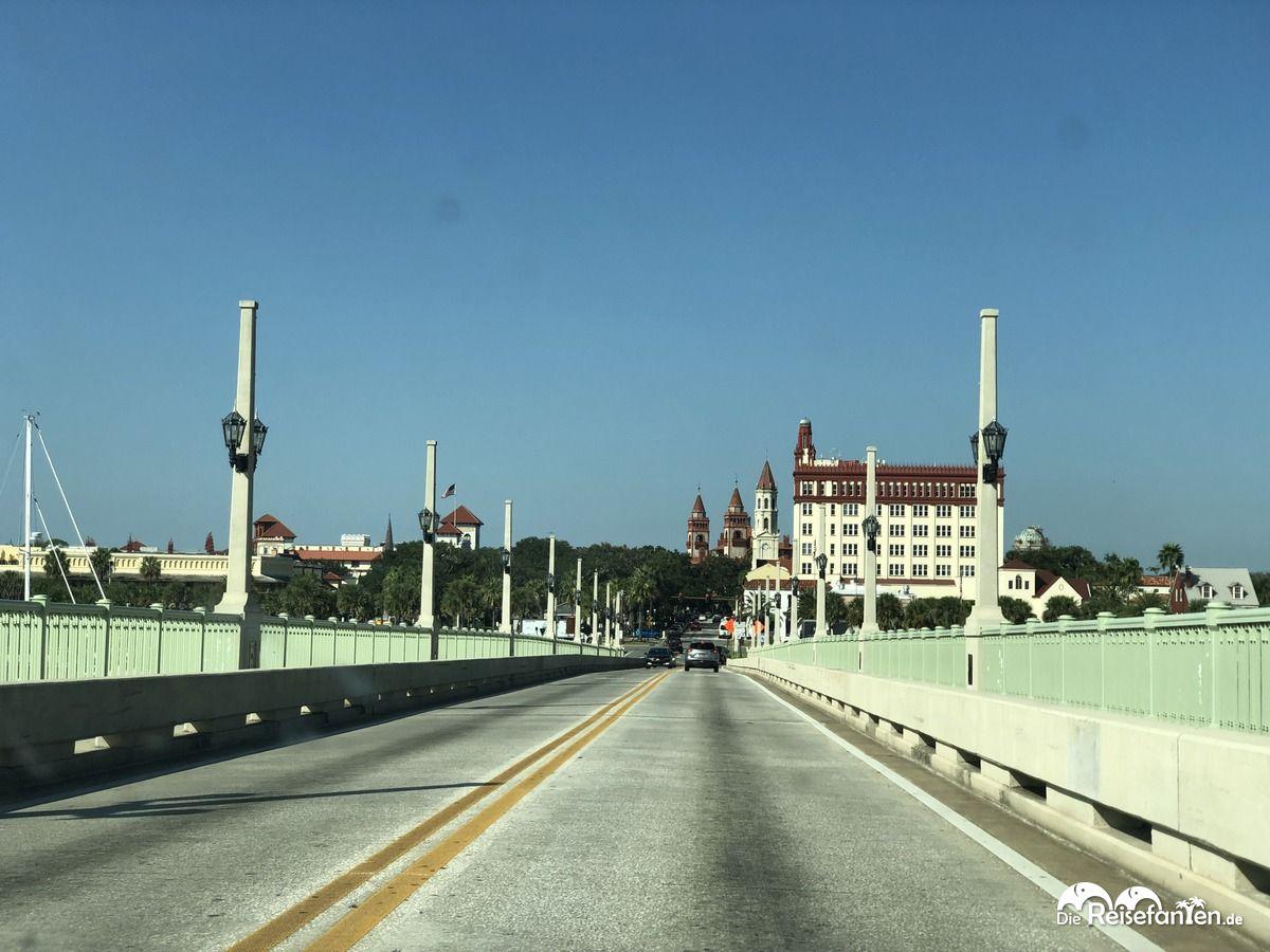 Zufahrtsstraße nach St. Augustine FL