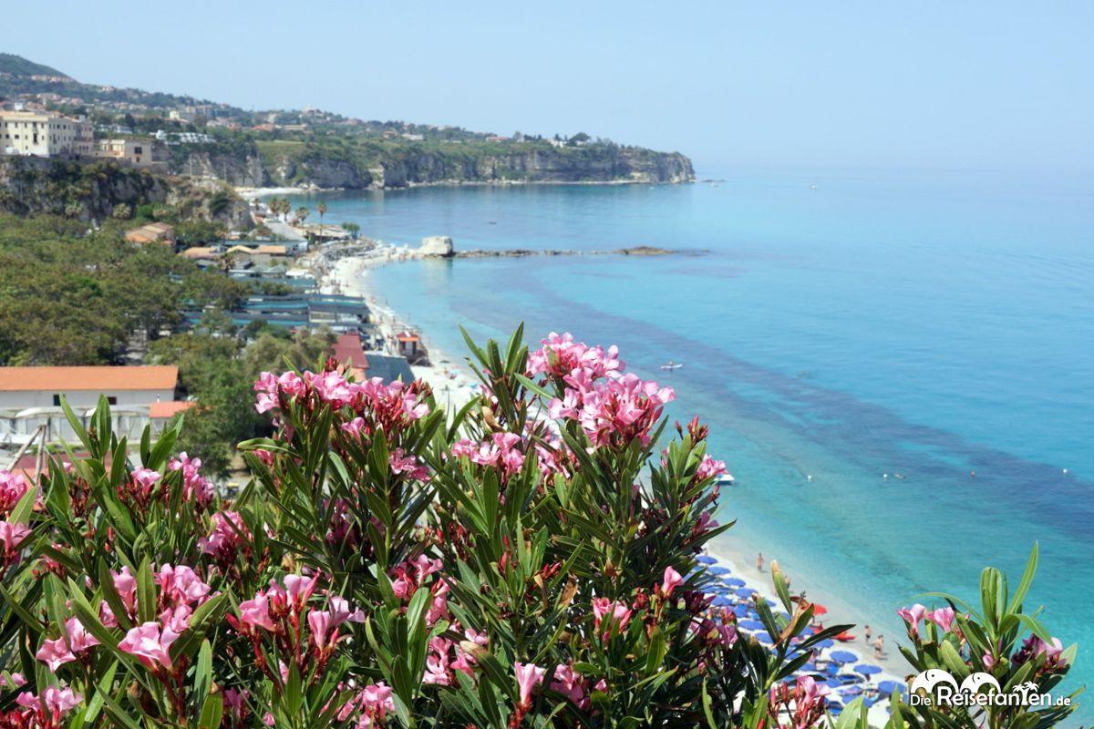 Blick gen Süden von der Wallfahrtskirche Santa Maria dell'Isola aus