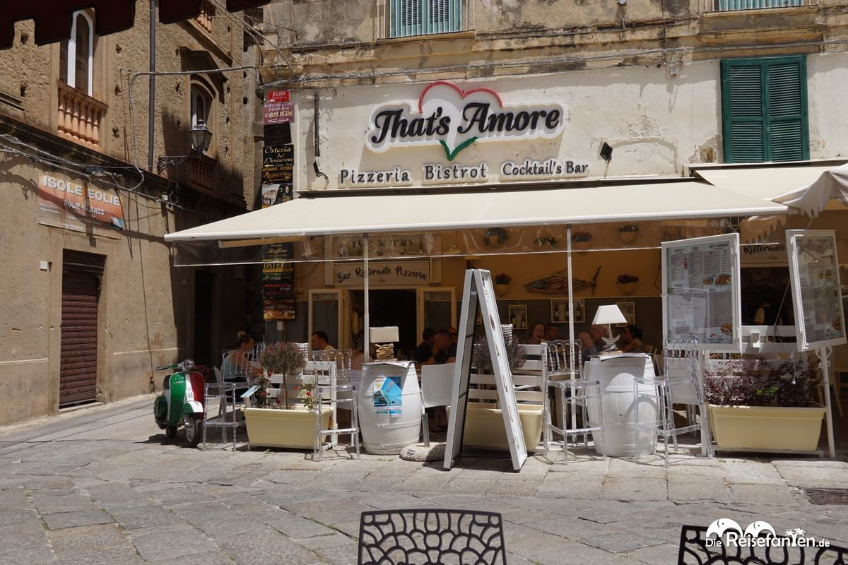 Das Restaurant That's Amore in Tropea