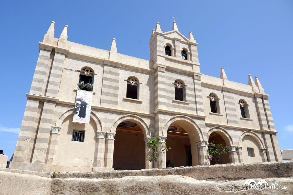 Die Wallfahrtskirche Santa Maria dell'Isola