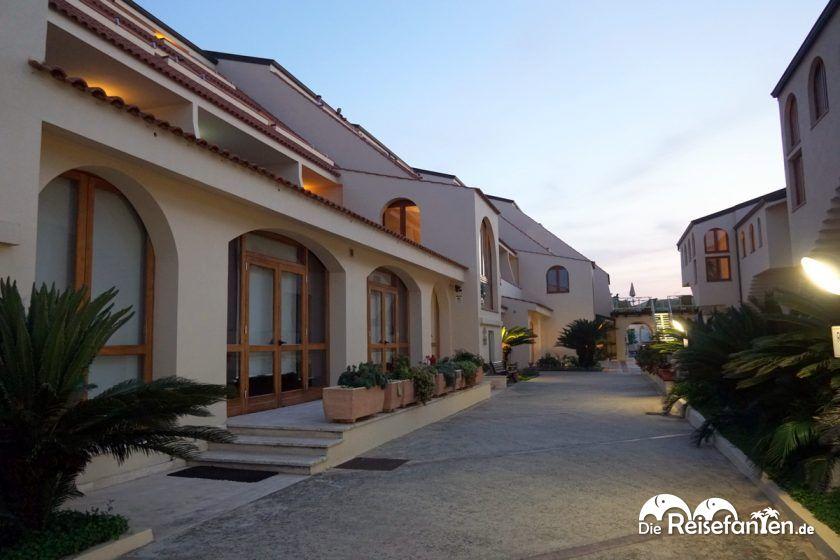 Eingangsbereich im Hotel Tropis in Tropea