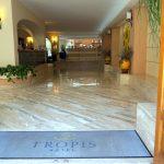 Lobby im Hotel Tropis in Tropea