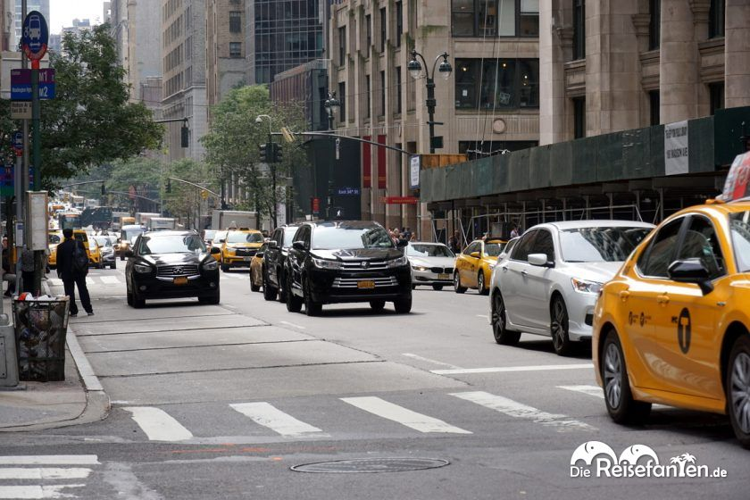 New York City bei Tag