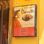 Schild der Gelateria Dante in Pizzo