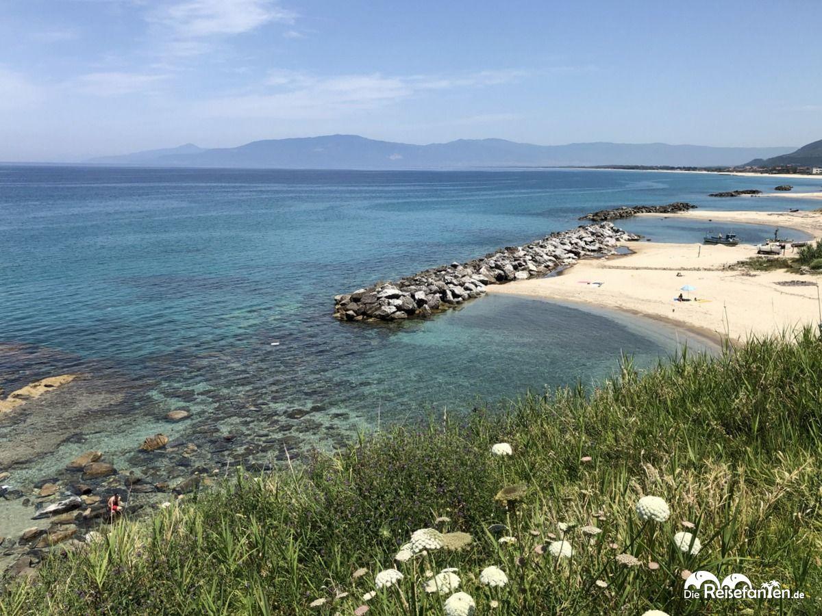 Strand von Pizzo