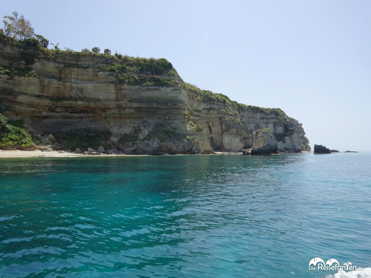 Bootsausflug entlang der Küste des Capo Vaticano