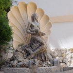 Brunnen zu Ehren der Skylla im italienischen Scilla