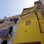 Buntes Haus im italienischen Scilla
