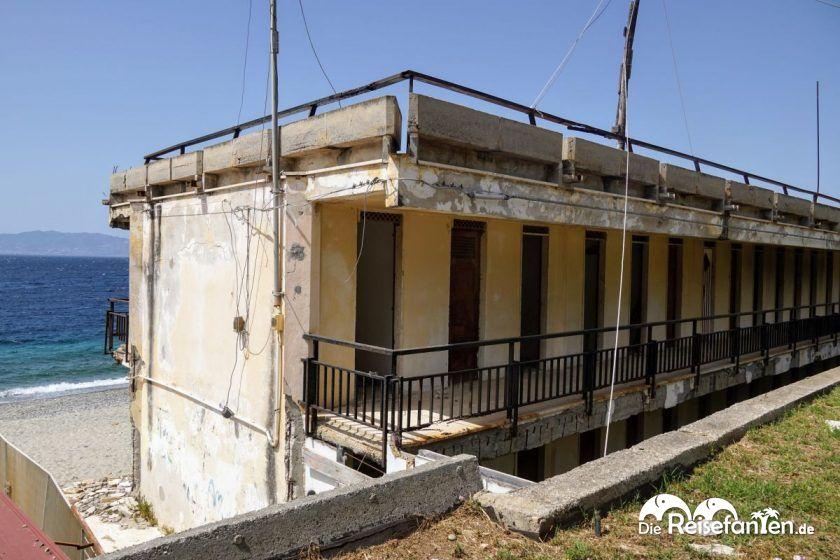 Das öffentliche Lido von Reggio Calabria