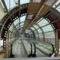 Die geschlossene Rolltreppe in Reggio Calabria