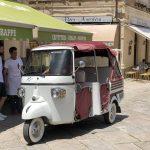 Dreirad in Tropea