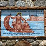 Ein Wandbild im italienischen Scilla