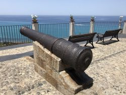 Kanonen in Tropea