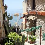 Meerblick im italienischen Scilla
