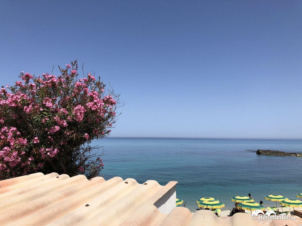 Meerblick in Tropea