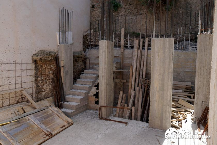 Neubau im italienischen Scilla