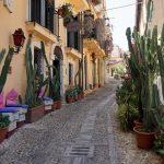 Straßenbild im italienischen Scilla