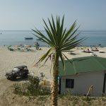 Strandabschnitt in Tropea