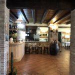 Bar im Agriturismo Creta Rossa