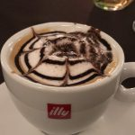 Kaffee im Agriturismo Creta Rossa