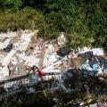 Müll in der italienischen Natur