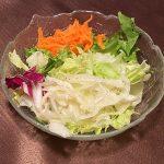 Salat vom Buffet im Restaurant Alte Ziegelhütte in Clausthal Zellerfeld