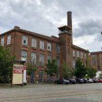 An der alten Baumwollspinnerei in Leipzig