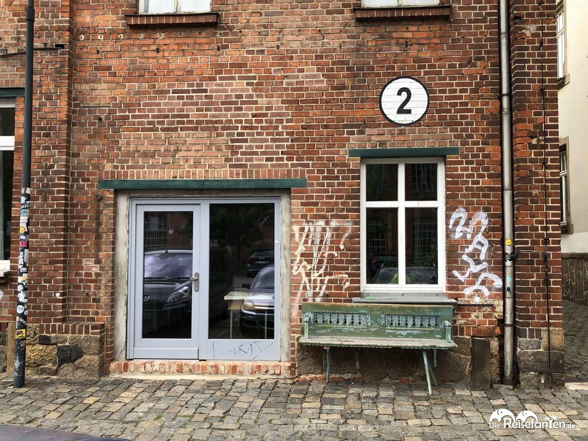 Atelier an der alten Wollspinnerei in Leipzig