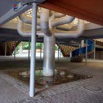 Brunnen unter der Multihalle im Herzogenriedpark in Mannheim.jpg