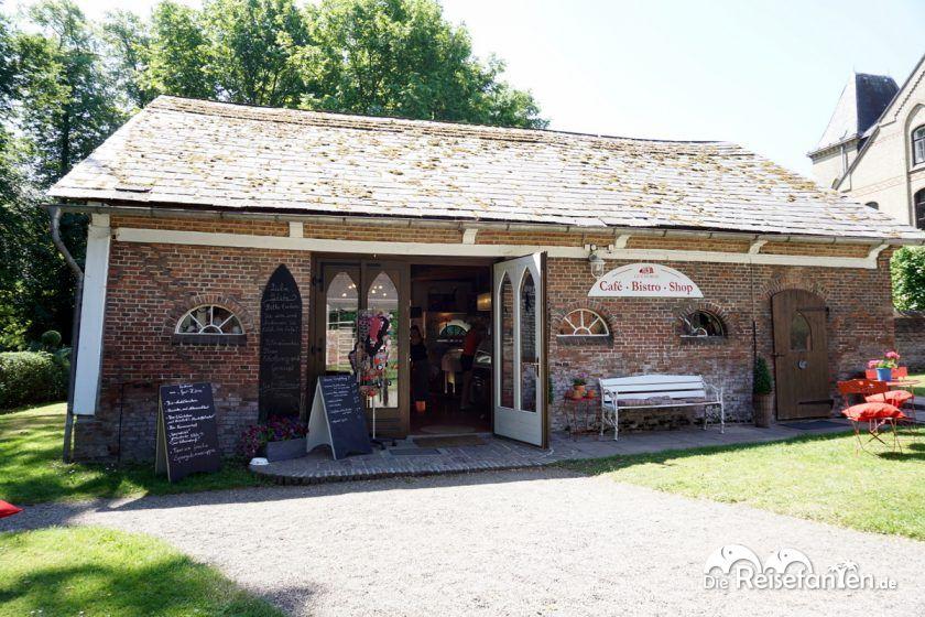 Cafe, Bistro und Shop des Gut Hörne