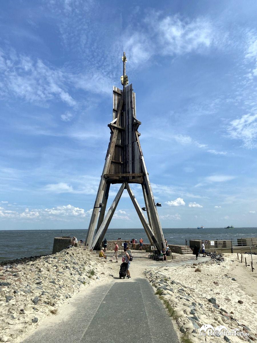 Die Kugelbake von Cuxhaven