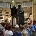 Faust und Mephisto Statue in Leipzig