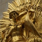 Goldbild der Leipziger Commerzbank