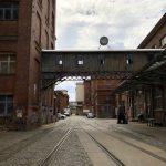 Industrie der alten Baumwollspinnerei in Leipzig