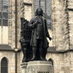 Johann Sebastian Bach Statue in Leipzig