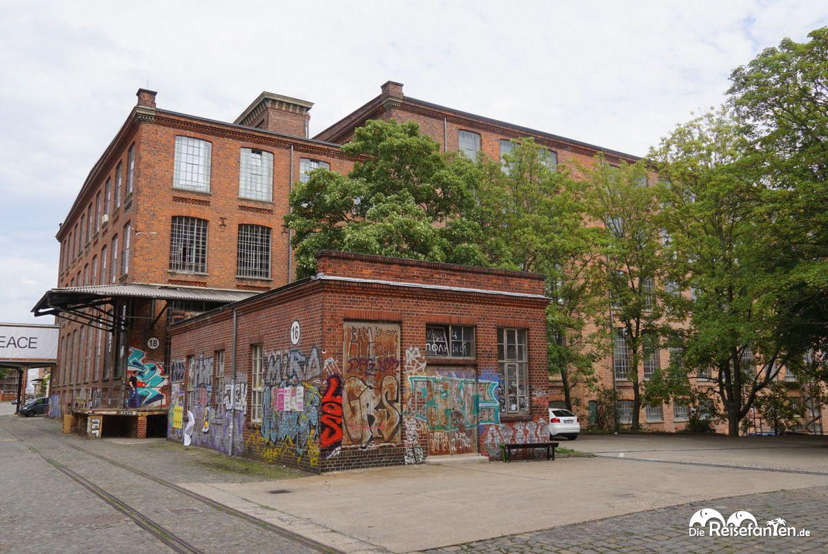 Teil der alten Wollspinnerei in Leipzig