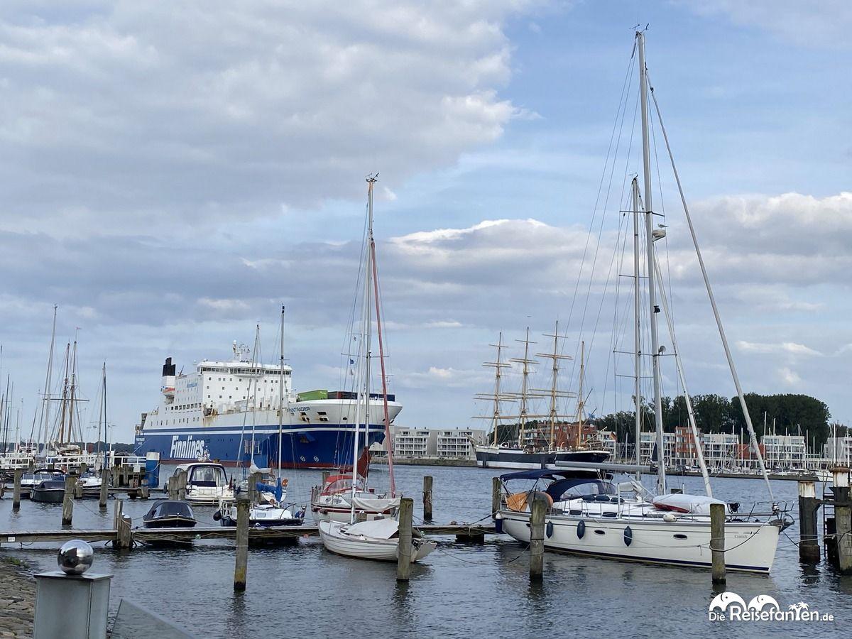 Der Hafen von Travemünde