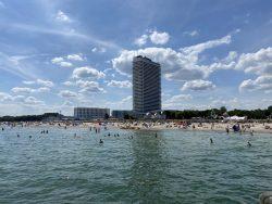 Der Strand von Travemünde